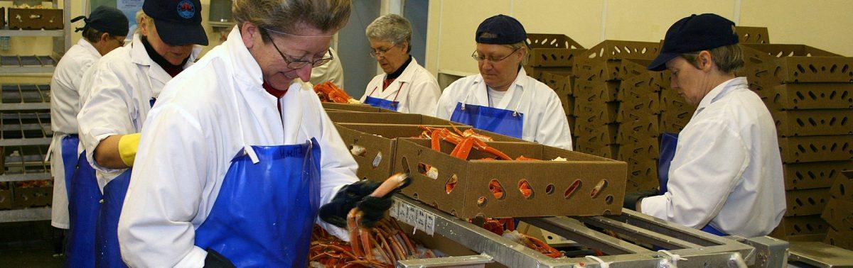 Bienvenue au Comité sectoriel<br>de main-d'oeuvre des pêches maritimes